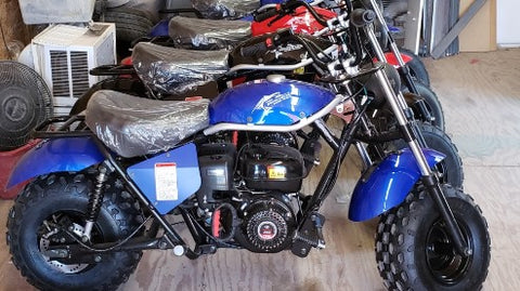 Trail master mini dirt bike scooter MB 200