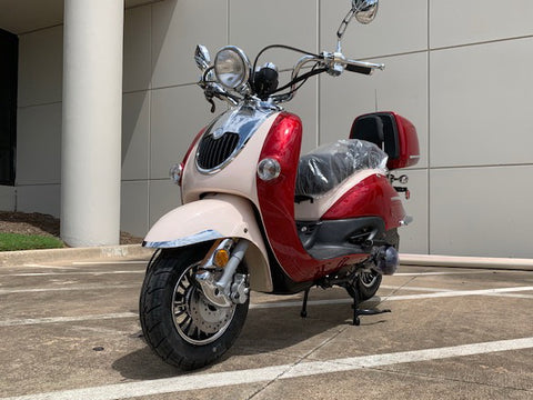 Sorento 50 cc Scooter Trailmaster