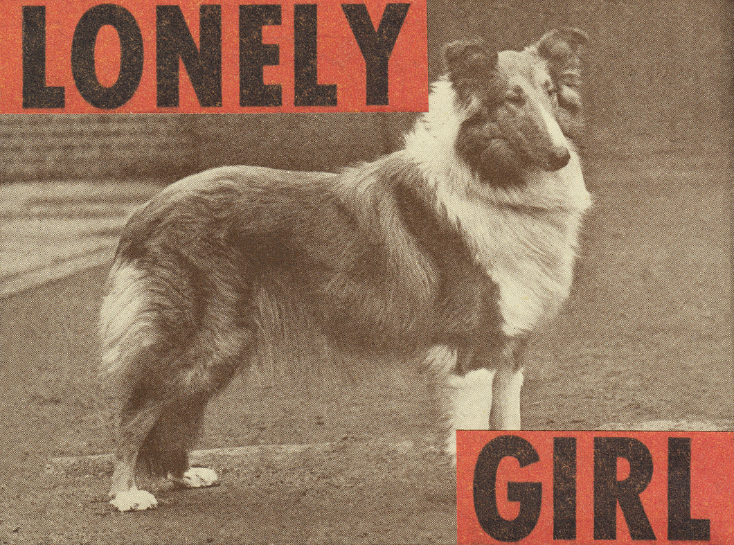 Lonely Girl print