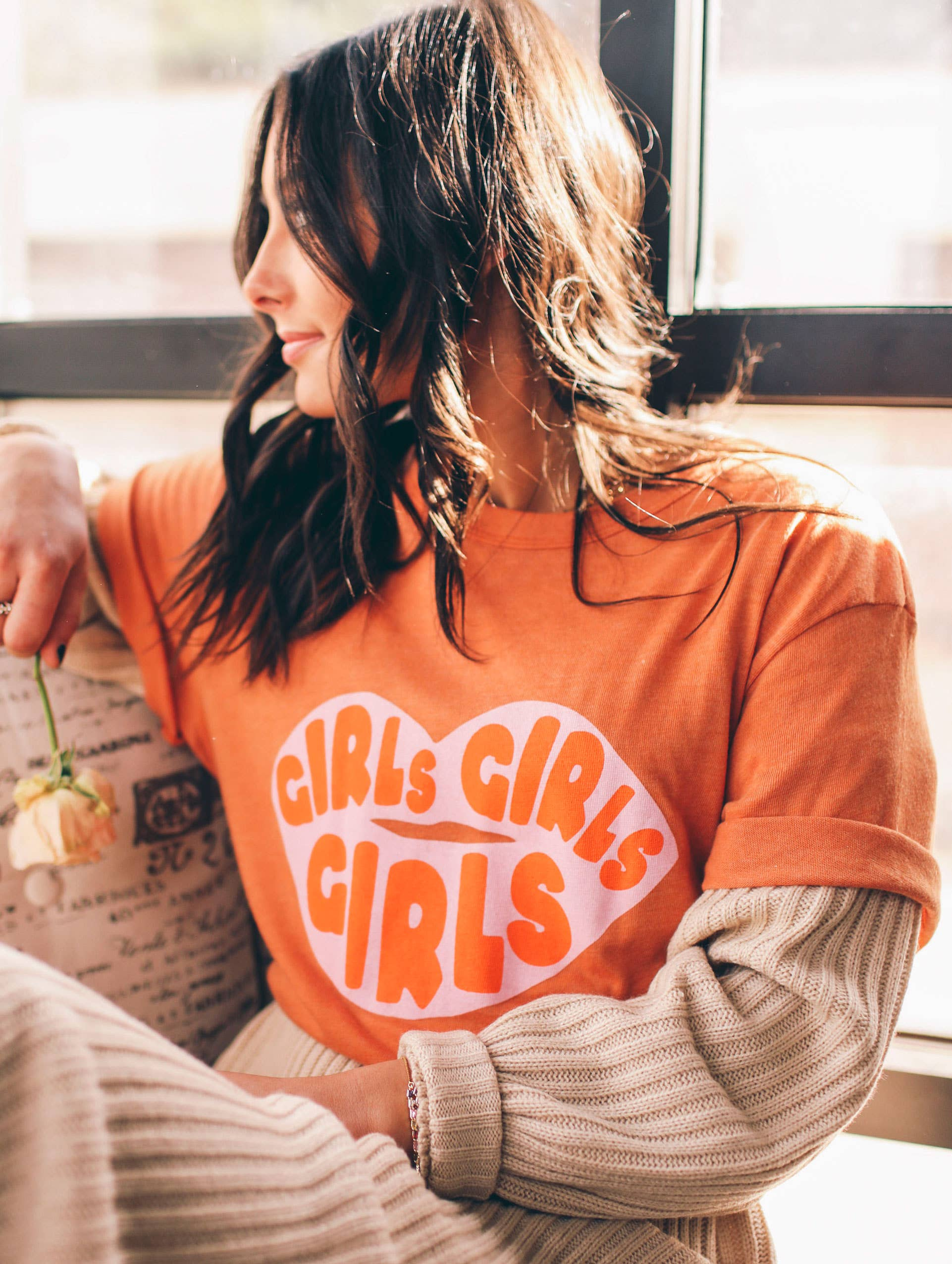 Girls Girls Girls Graphic Tee