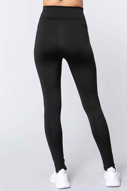 V Trim High Waist Athletic Style Legging