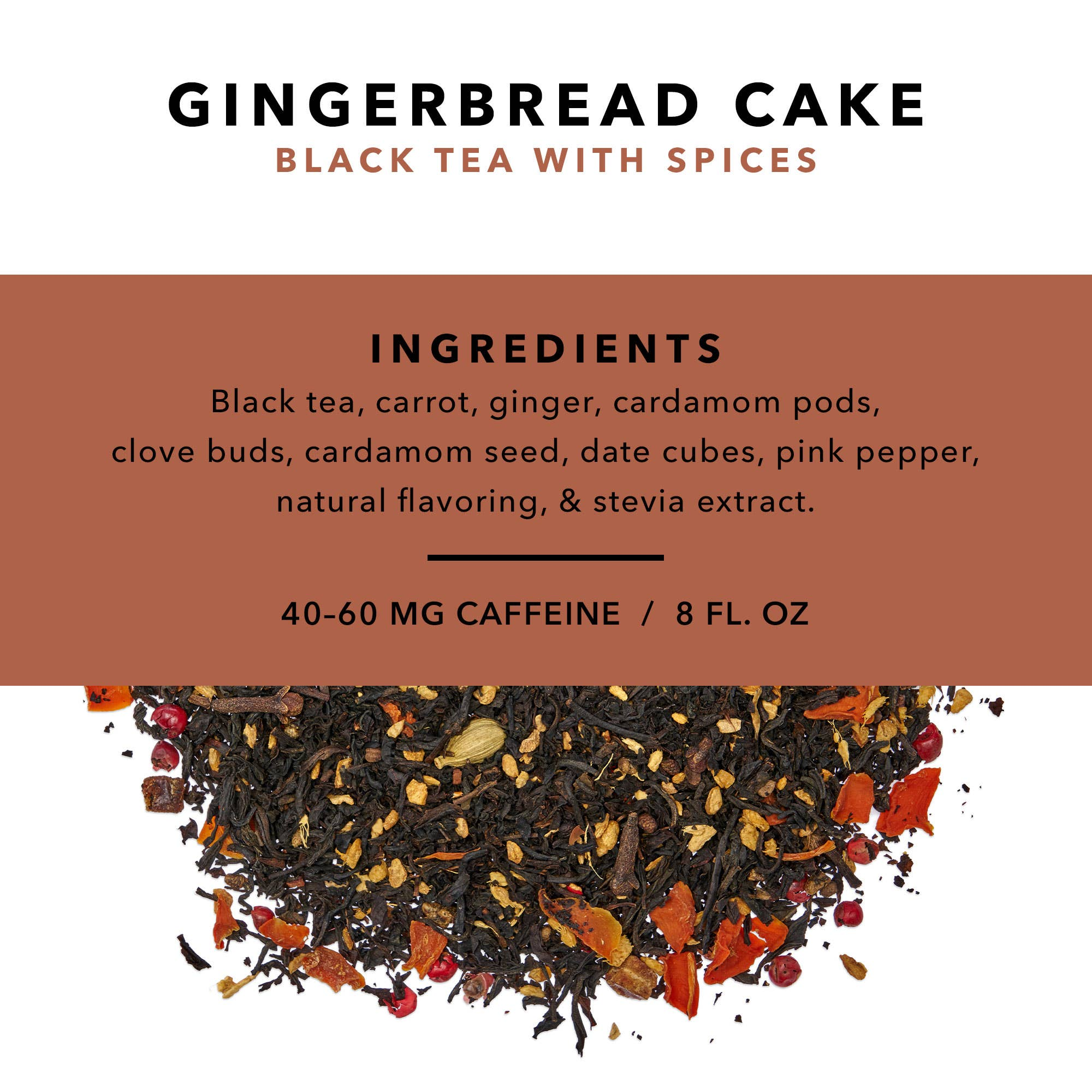 Gingerbread Cake Loose Leaf Tea