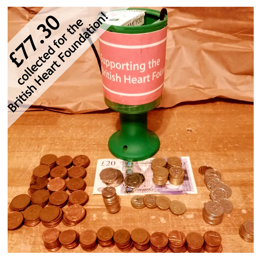 Donation to the British Heart Foundation