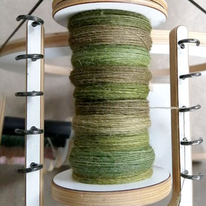 Managing colour in hand dyed fibre