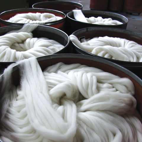 fibre top wool roving