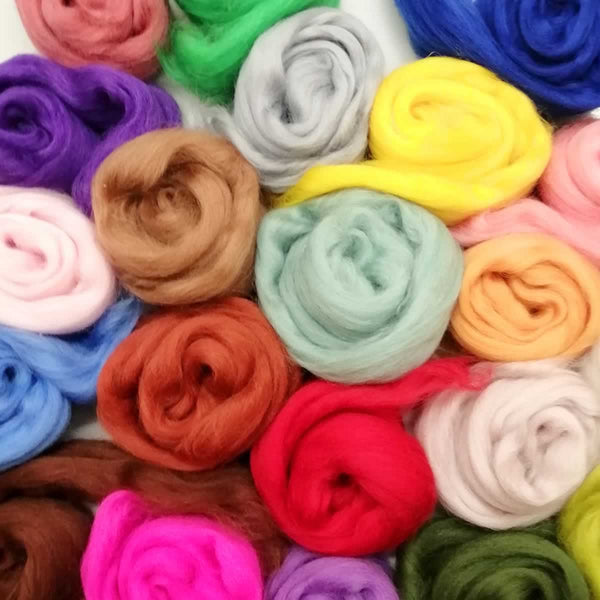 Selection - Merino mixed colours (300g)