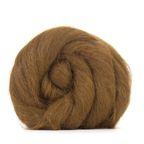 Baby alpaca natural light brown