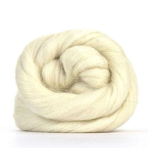 Baby alpaca natural white
