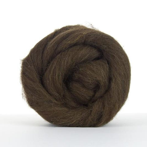 Corriedale natural dark brown