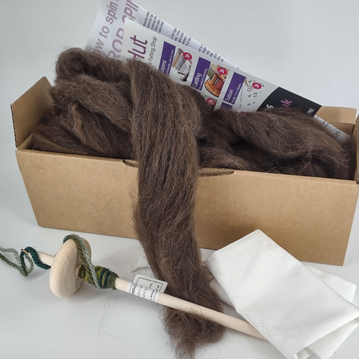Drop Spindle Kit - ALPACA