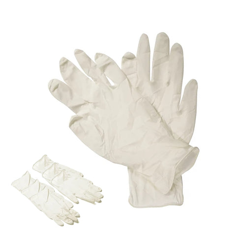 Latex Gloves (pack of 3)