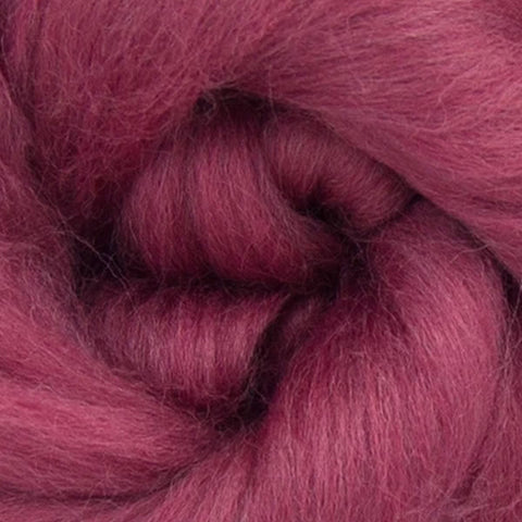 Mulberry dyed Merino
