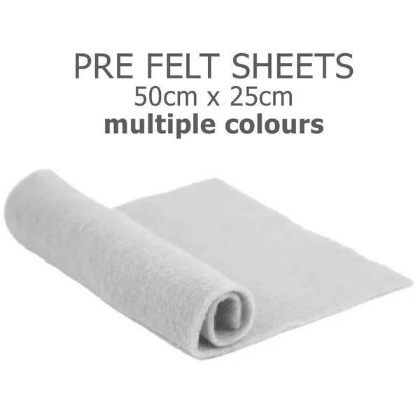 Pre felted sheets (Merino)