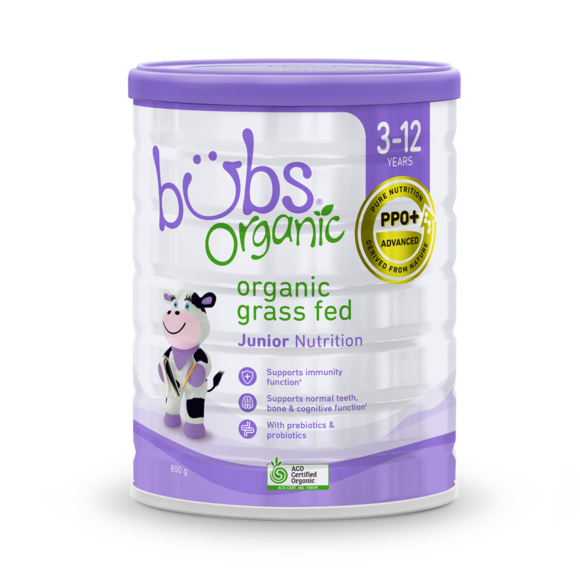 Bubs Organic® Grass Fed Junior Nutrition Drink