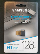 Lade das Bild in den Galerie-Viewer, Samsung Fit Plus 128GB  3.1 USB Flash Drive