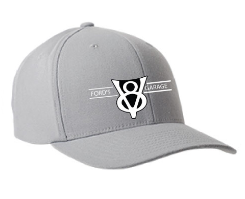 2016 Ford's V8 Hat Grey Flex Fit