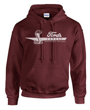2017 Ford's Heather Red Cobra Hoodie