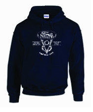 2017 Ford's Navy V8 Hoodie