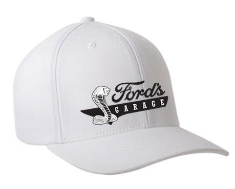 2017 Ford's Cobra Hat White Flex Fit