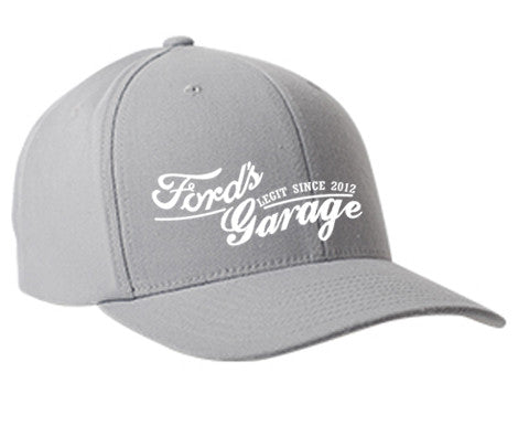 2017 Ford's Garage Hat Grey Flex Fit