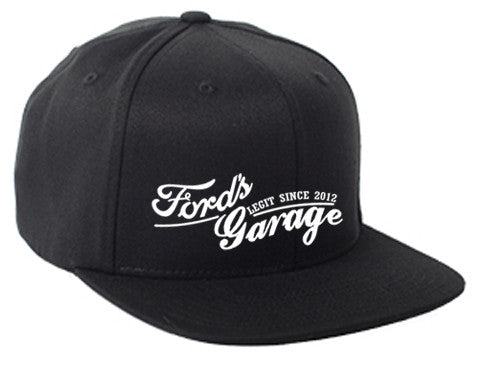 2017 Ford's Garage Hat Black Flex Fit