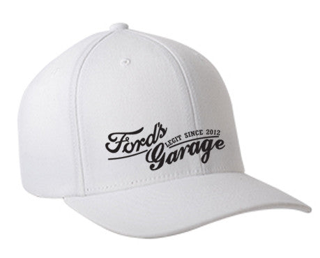 2017 Ford's Garage Hat White Flex Fit