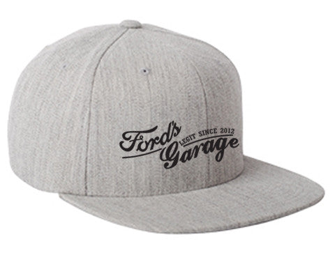 2017 Ford's Garage Grey Hat SnapBack