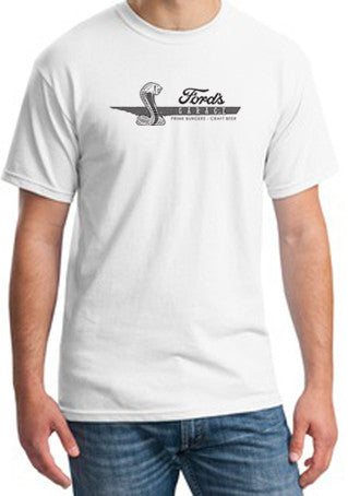 2017 Short Sleeve T Shirt White Cobra