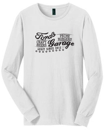 2017 Long Sleeve T Shirt White