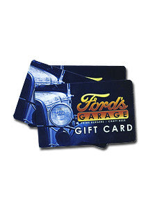 Ford's Garage Gift Card