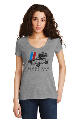 Ladies Vintage Mustang Shirt