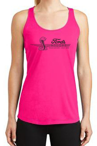 2017 Ladies Pink Cobra Top