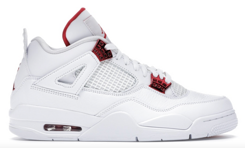 Air Jordan Retro 4 Metallic Red