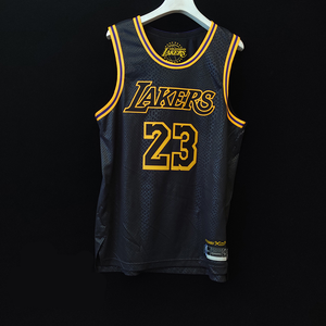 Lebron James Black Mamba Edition Jersey