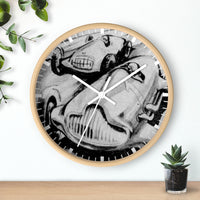 Racing is Crucial - Classic Grand Prix - Wall clock