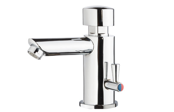 Metered Faucet | Temp Adjustable
