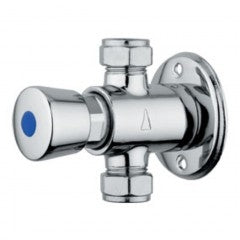 Exposed Push Button Shower Valve | Time Adjustable