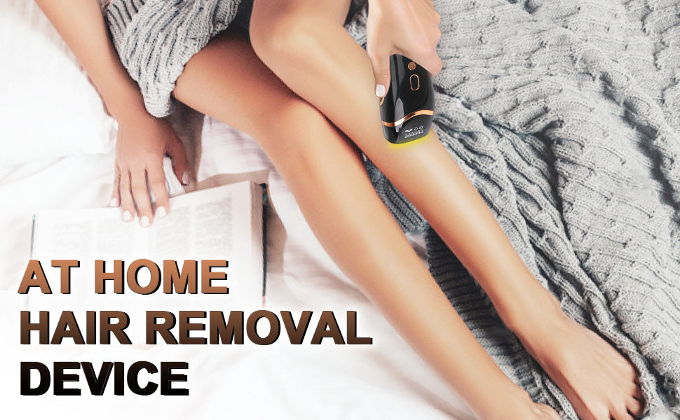 how to use you own laser hair removal machine at home