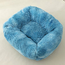 Load image into Gallery viewer, Dog/Cat Bed Sofa Long Plush Square Soft Warm Non-slip
