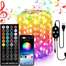 Load image into Gallery viewer, Smart Home Christmas Bluetooth LED String Lights