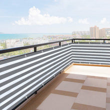 Load image into Gallery viewer, Home Balcony Privacy Screen with Grommets Fence Deck Shade Sail Yard Cover