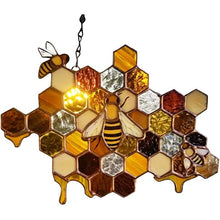Load image into Gallery viewer, Durable Bee Hanging Suncatcher For Windows Decoration