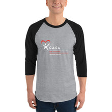 Load image into Gallery viewer, CASA OC 3/4 sleeve raglan shirt
