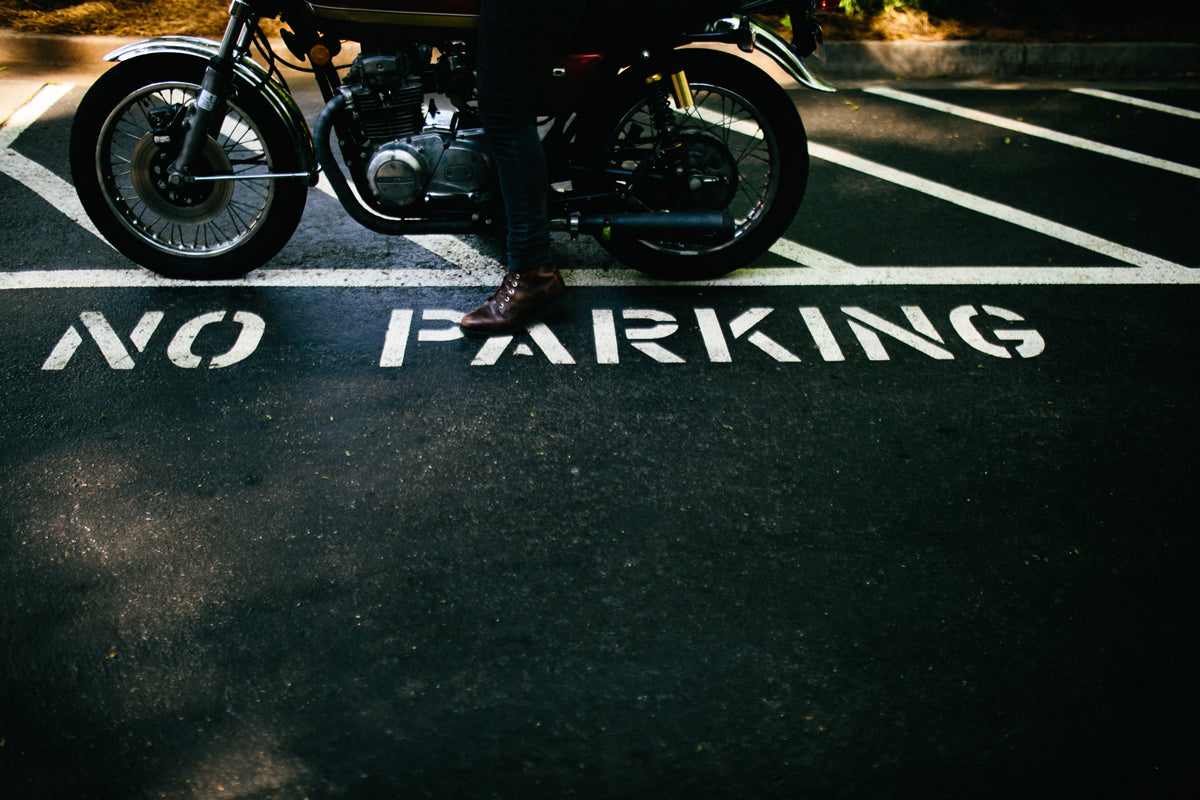 zac till - Atlanta motorcycle - no parking