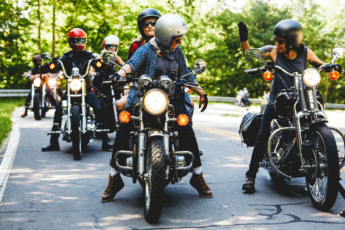 No Man's Land All womens motorcycle ride