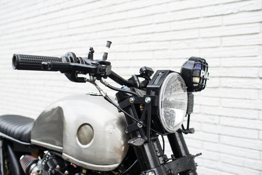 Custom motorcycle headlights - piaa