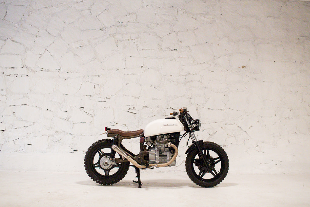 Brother Moto CX1 - Custom CX500 Scrambler cafe racer