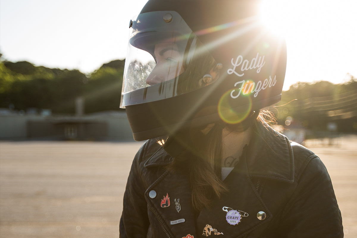 Ashley (Ash) Grimes Atlanta - Cafe Racer girl