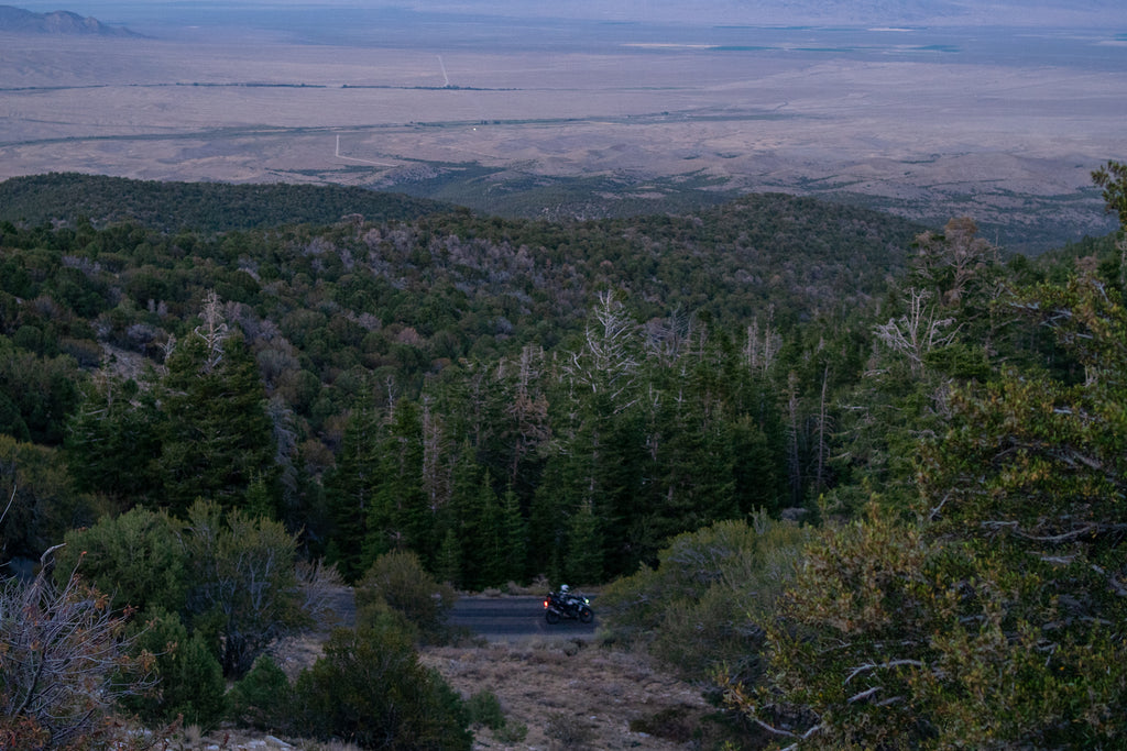 Motorcycle ride to the great basin