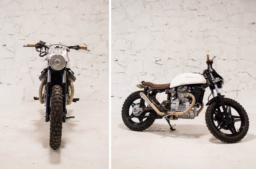 Custom CX500 Scrambler
